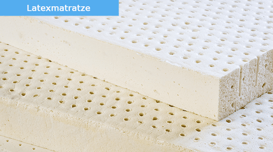 Matratze aus Latex