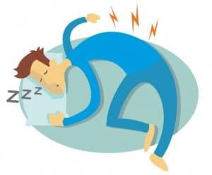 Falsche Schlaflage