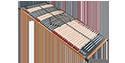 FMP Rhodos KF verstellbarer Lattenrost